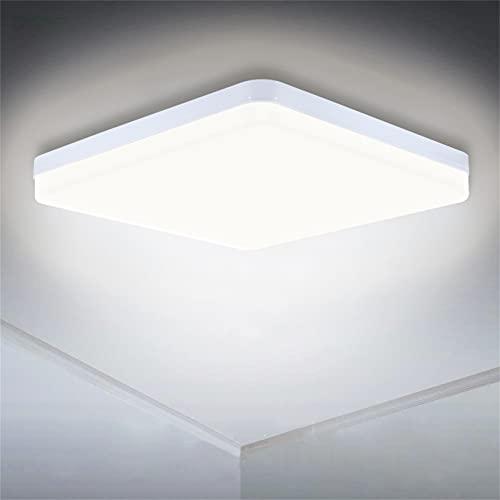 LED Deckenleuchte 36W, SUNZOS 4000K 3240LM Deckenlampe für Wohnzimmer, Schlafzimmer, Küche, Flur, Balkon, Esszimmer, Neutralweiß