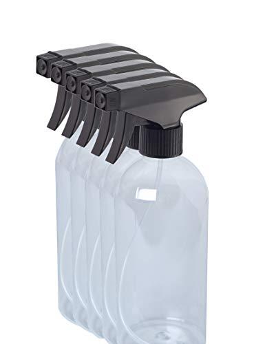 5 pcs bouteille de pulvérisation 1000ml vide transparent