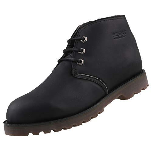 Sendra 15993 - Botas para hombre, forradas, color negro, color Negro, talla 47 EU
