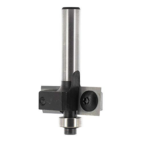 ENT 20310 Wendeplatten Falzfräser HW (HM), Schaft (C) 8 mm, Durchmesser (A) 30 mm, B 12 mm, T 10 mm, GL 50 mm, mit Kugellager