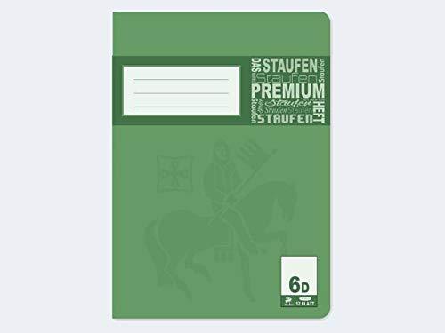Premium dubbele boekje A5 32Bl Lin6 blanco - leverhoeveelheid 20 stuks