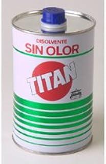 comprar comparacion TITAN - DISOLVENTE SIN OLOR 1LT