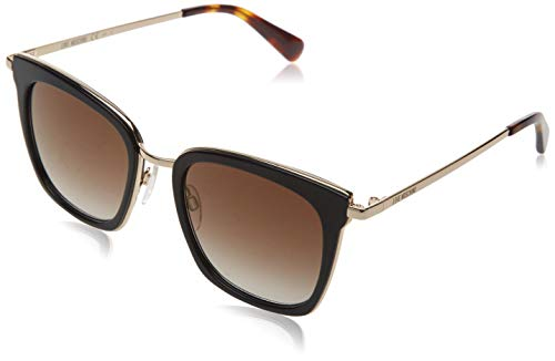 Love Moschino Damen MOL007/S Sonnenbrille, Schwarz (BLACK), 50
