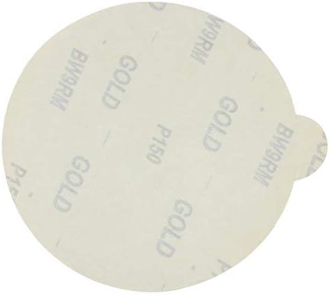 6 PSA Adhesive Sticky Back Tabbed Sanding Discs 50 Pack, 180 Grit