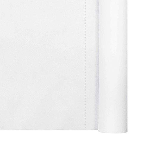 Thouy - Mantel de Tela no Tejida (1,20 x 50,40 m), Color Blanco