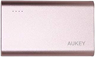 Aukey 10050mAh Quick Charge 3.0 Power Bank, Rose Golden