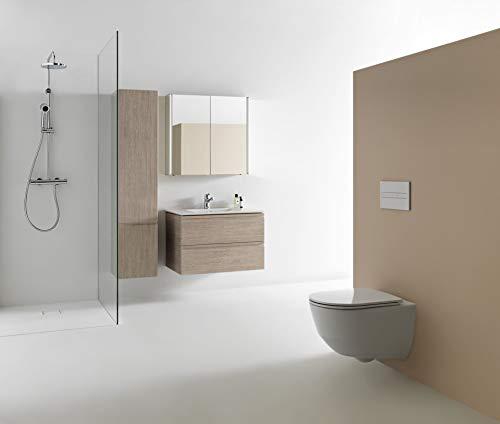 Laufen Pro Wand Tiefspül WC mit verdeckter Befestigung ohne Deckel 820956000001