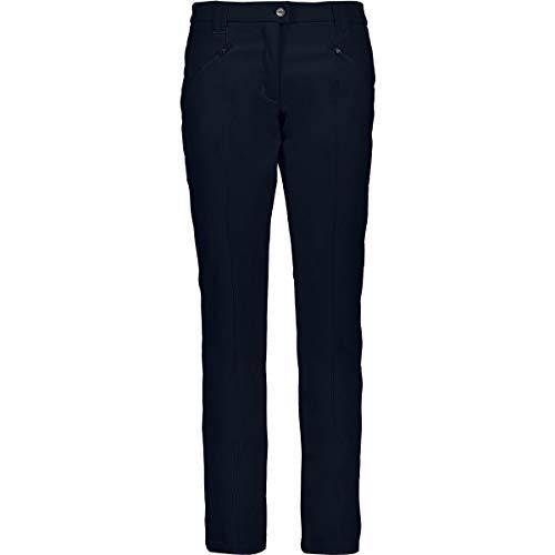 CMP Damen Softshell Lange Hose 3A11266, Blau (Black Blue), 42 (Herstellergröße: L)
