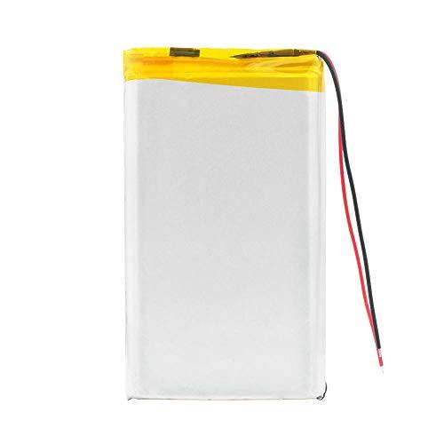 wangxiaoping Batería de Litio Lipo Li-Po de 3,7 V 10000 mAh 1260100 con reemplazo de batería de polímero de Litio PCB para Tableta DVD Dispositivo médico-3,7 V_2X batería