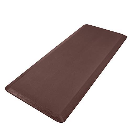 HEBE 4/5' Kitchen Mat Cushioned Anti Fatigue Floor Mat Waterproof Non-Slip Comfort Standing Mat Ergonomic Kitchen Mat Rug Runner for Office,Sink,Laundry,Desk