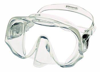 Atomic Aquatics Frameless Mask for Scuba Diving and Snorkeling - Medium Clear