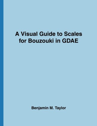 A Visual Guide to Scales for Bouzouki in GDAE: A Reference Text for Classical, Modal, Blues, Jazz and Exotic Scales: Volume 18 (Fingerboard Charts for ... and Exotic Scales on Stringed Instruments)