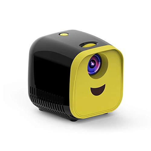 MENGZHEN - Proyector portátil con proyector de vídeo de 30.000 Horas (Funciona con USB)