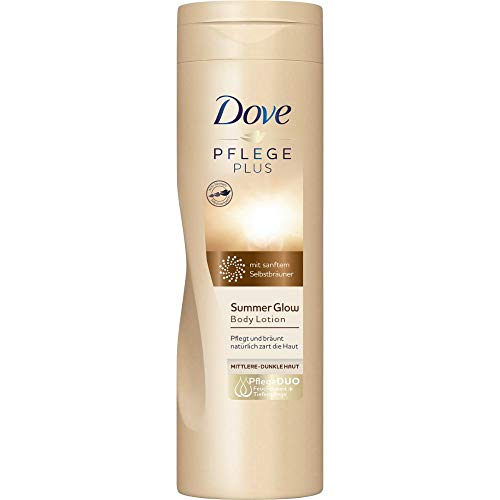 Dove PFLEGE PLUS Summer Glow Body Lotion, 250 ml