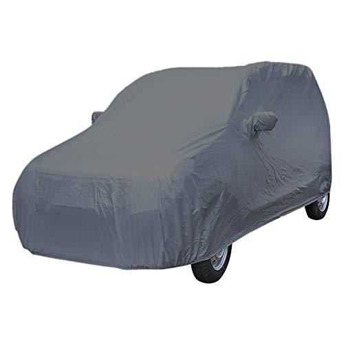 ARNV Mirror Pocket, Fabric Car Body Cover for Maruti WagonR (Grey)