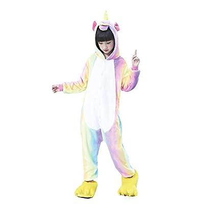 Pijama Unicornio Arco Iris Niña (7-9 años) (+ Tallas) Carnaval Unicornios