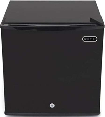 Whynter CUF-110B Energy Star 1.1 Cubic Feet Upright Lock, Black Freezer