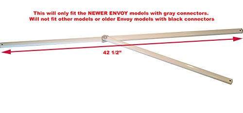 E-Z UP Envoy 10x10 Straight Leg Canopy Instant Shelter-Lower Peak Truss Bar Replacement Part
