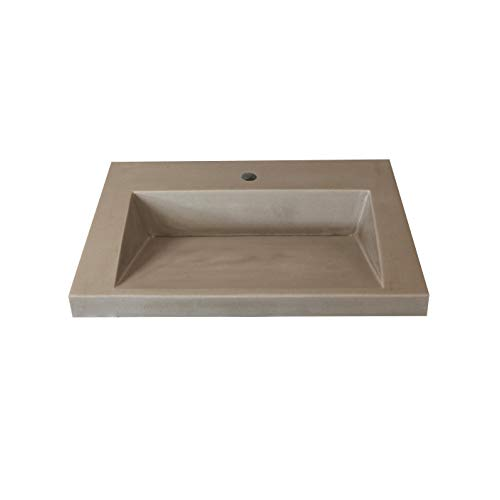 Faux Cement Ramp Sink Vanity Top 25' x 19'