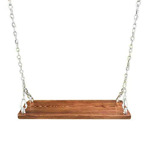 CCLLA Die Holzschaukel kann EIN Gewicht von 300 kg tragen, was sehr gut für Schaukeln im Freien,...