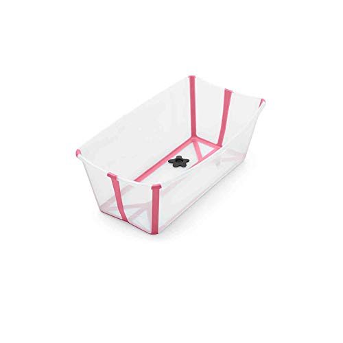 Stokke® Flexi Bath® transparent and pink