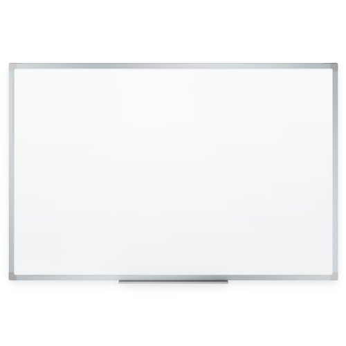 Mead Dry Erase Board, Whiteboard / White Board, 24 x 18 Inches, Silver Finish Aluminum Frame (85355)