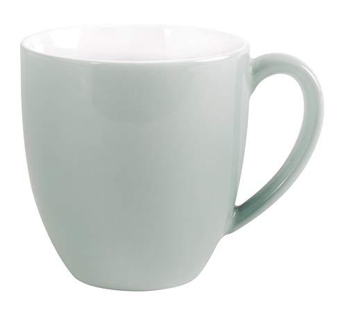 Kaffeebecher 0,40ltr./H.10,5cm XL PRONTO COLORE MINT-GRAU Kahla Porzellan**6 (6 Stück)