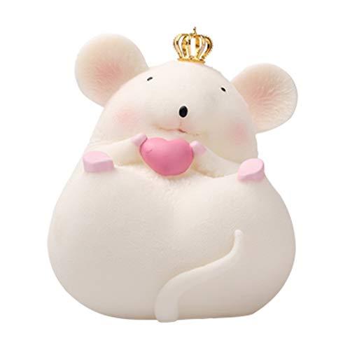 Banco de Dinero Resina Lindo hámster Piggy Money Bank Personalizada Caja de ahorros for niños Muchacho de Las Muchachas Decoración Infantil Escritorio Regalo Hucha de Ahorro para niños