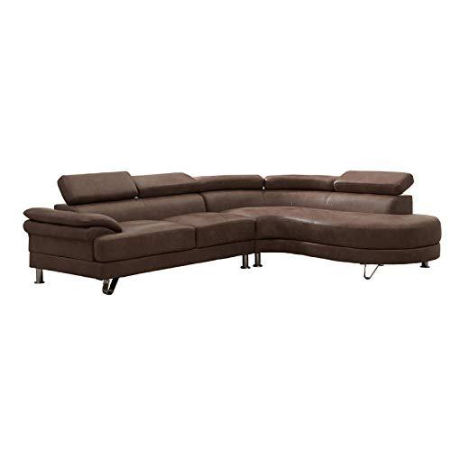 HTI-Line Polstergarnitur Ottomane Rechts Bern Ecksofa Polsterecke Polstergarnitur Couch Couchgarnitur Ottomane Sitzgelegenheit