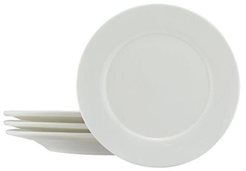 Dowan 11 Inch - Serving Platter,Set of 4,White Porcelain