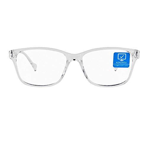 Blue Light Blocking Computer Glasses for Women 1 pack Anti Eyestrain