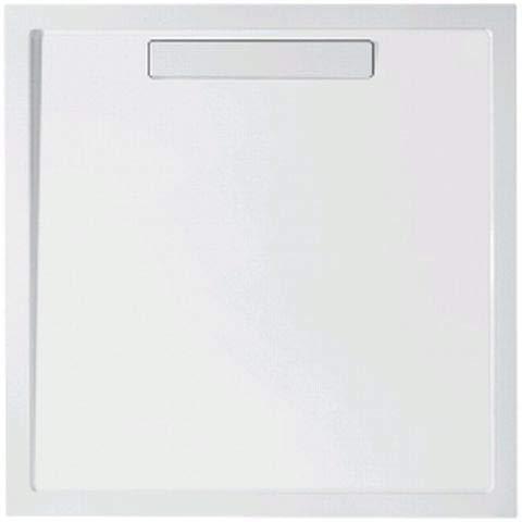 Villeroy & Boch Duschwanne Quaryl Quadrat Squaro 90x90x1,8cm weiß (alpin), UDQ0910SQR1V-01