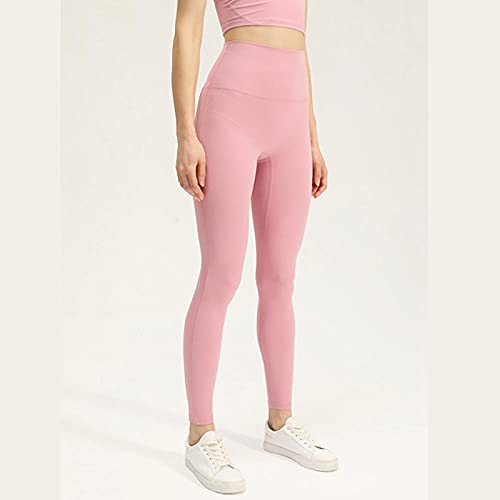 ArcherWlh Leggings Mujer,Europa y los Estados Unidos nuevos Pantalones Ajustados Deportivos Hembra l Pantalones de Yoga Verano-Rosa_SG