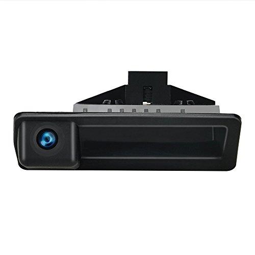 Dynavsal Griffleiste Kofferraumgriff Wasserdicht 170 ° umkehrbar fahrzeugspezifische Kamera in Koffergriff integriert Rückfahrkamera für BMW 5er X1 X3 E83 X5 X6 F10 F11 F25 F30 535Li 530i