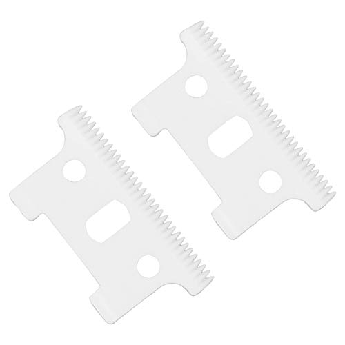 Professional Replacement Ceramic Moving Blades #04521 for Andis T Outliner, Including 2 Pieces Moving Blades, Compatible with Andis T Outliner GXT Trimmer(Off White, 2 Pieces) -  AIRERA, MPN710037