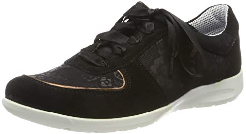 Jomos Damen Sprint Sneaker, Schwarz (Schwarz-Bronze 990-0094), 40 EU