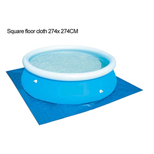 Amiispe Pool-Bodenschutzfliese,Bodenplane Verschiedene Größen für Verschiedene aufblasbare Schwimmbäder