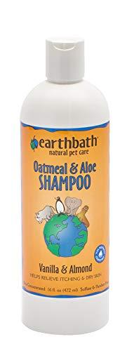 Earthbath Oatmeal & Aloe Shampoo, Vanilla & Almond, 16 Ounce