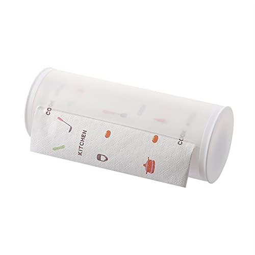 Portarrollos Cocina Toallito de papel - Rack de almacenamiento de caja de tejido bastidor de tejido extraíble - Organizador de almacenamiento de montaje en pared para la lavandería de la despensa de l