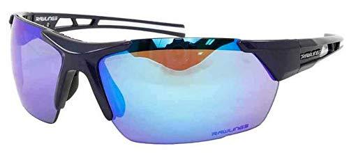 RAWLINGS 33 Baseball Sunglasses - Navy Blue Mirror - Adult