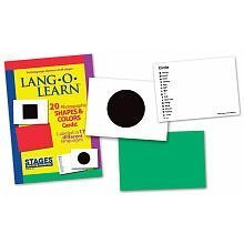 Lang-O-Learn Cards - Shapes and Colors by STAGES LEARNING MATERIALS