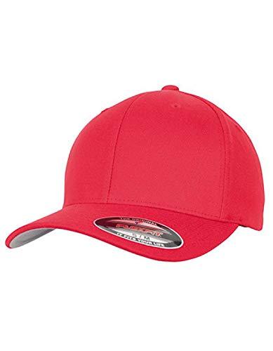 Flex fit Wool Blend Cap M Rouge