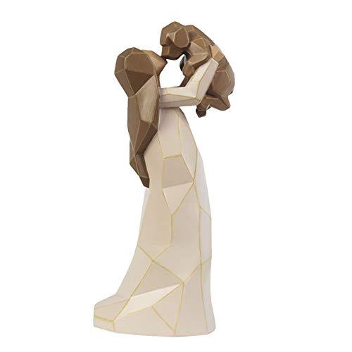Cutfouwe Hundeengel Figuren, Engel Der Freundschaft, Gedenkfiguren, 22.1 cm, Modellierte, Handbemalte Figuren,22.1 x 11.51 x 10.01 cm