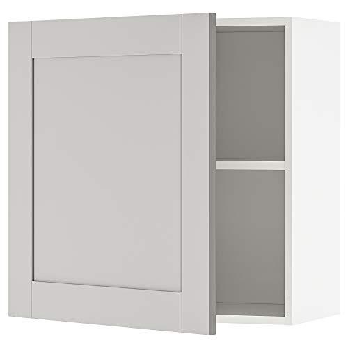 Armario de pared KNOXHULT con puerta 60x31x60 cm gris