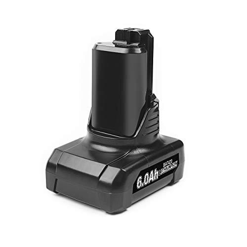 Bonadget 6.0Ah BAT420 BAT414 BAT412 Replacement Battery Compatible with Bosch 12-Volt Max Lithium-ion Cordless Power Tools