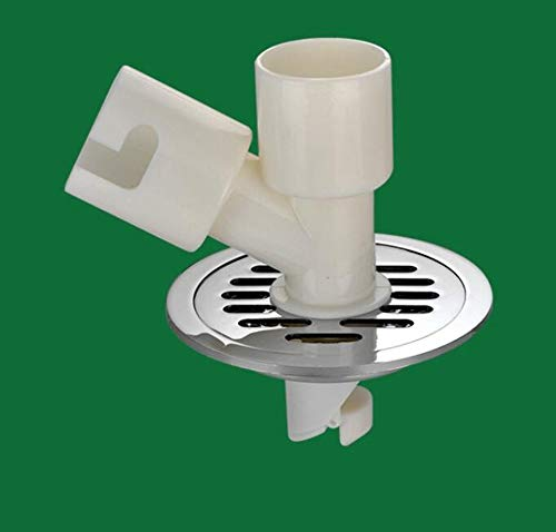 Rmbearmoni Vloer Afvoer Haai Onderzeeër Ronde Deodorant Vloer Afvoer Koper Riool Renovatie Wasmachine Pest Controle 40 Pijpleiding Anti-Water Diameter 11,5 Cm
