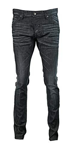 DSquared Pantalon Jean pour homme S74LB0339 Cool Guy Jean Noir - Noir - 44