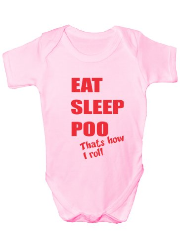 Print4U bébé fille (0–24 Mois) Body - - 6-12 mois