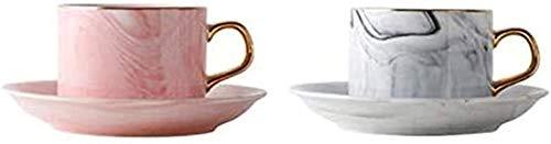 Taza de café espresso, taza de viaje, taza de la taza de cristal, taza de té de China, taza de café, taza de café, taza de té y platillos, taza de té creativa taza de té, copa de cerámica, conjunto de