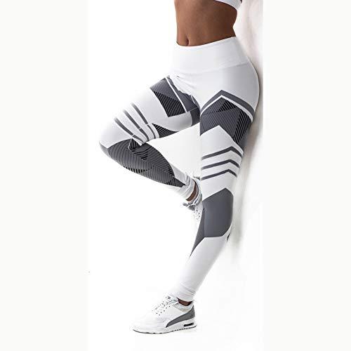 YELLAYBY elástico Los Pantalones de Yoga Tamaño Polainas Deporte Aptitud de Las Mujeres Legging de Estiramiento Delgados S-XXXL Plus Mallas for Correr Mujeres Leggins Elevación Delgada de la Cadera